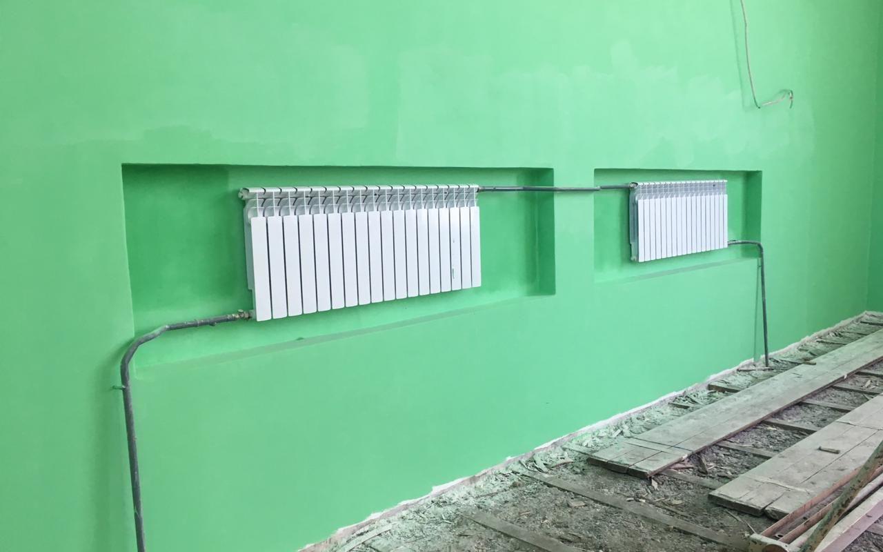 Монтаж системы отопления в г. Вытегра